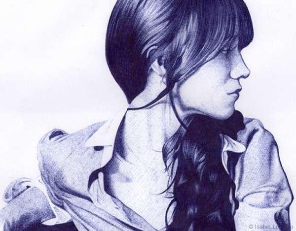 Realistically Inked Portraits
