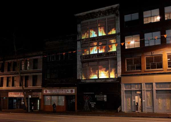 Faux Fire Installations