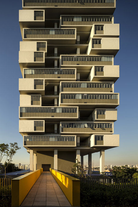 Jenga-Inspired Architecture