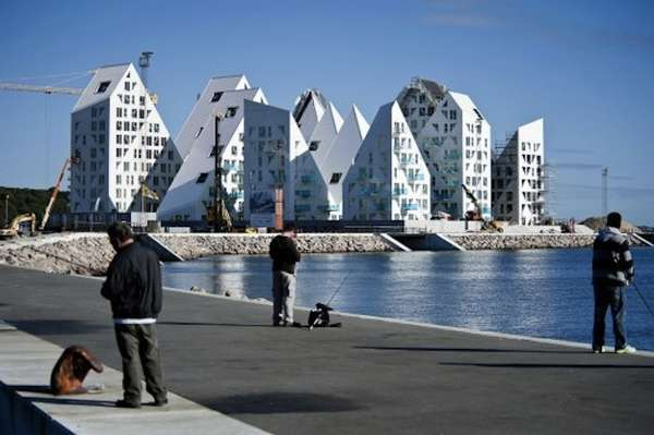 Iceberg-Shaped Housing