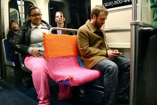 ishknits yarn bombing