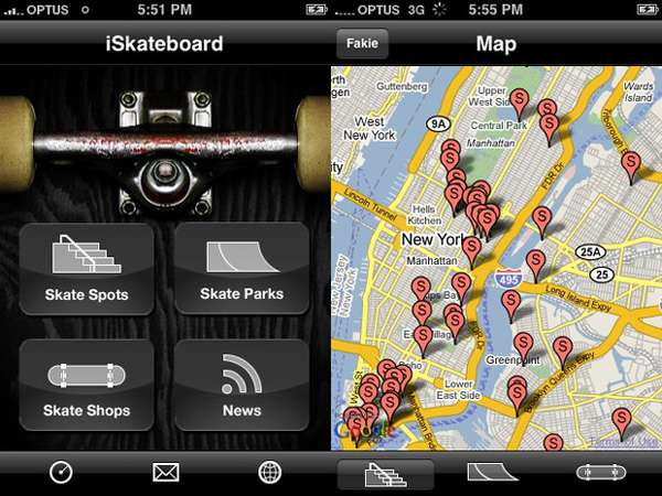iPhone Apps for Skaters