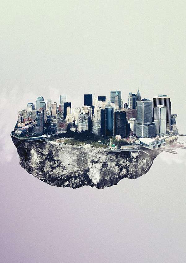 Cloudy City-Shaped Captures