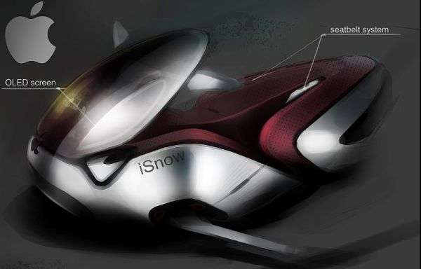 Apple-Inspired Snowmobiles