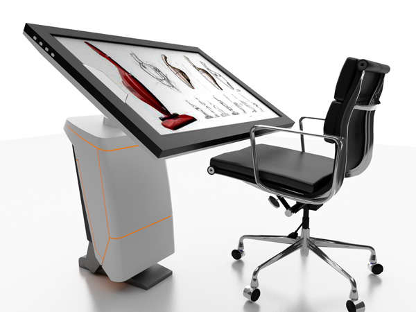 Digital Drafting Tables : iSpace Workstation