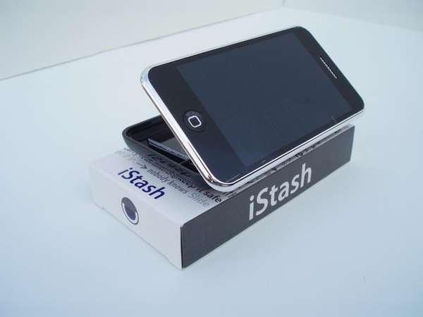 Storage-Concealing Smartphone Cases
