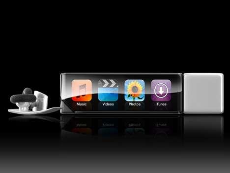 Stylish iPod as a Lipstick