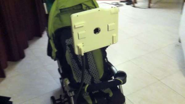 Baby Stroller Tablet Mounts