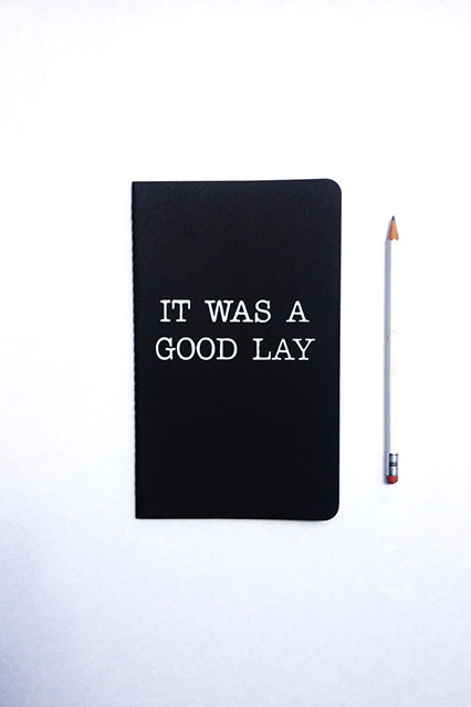 Cheeky Lyrical Notebooks