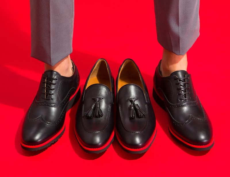 Lightweight Leather Dress Shoes