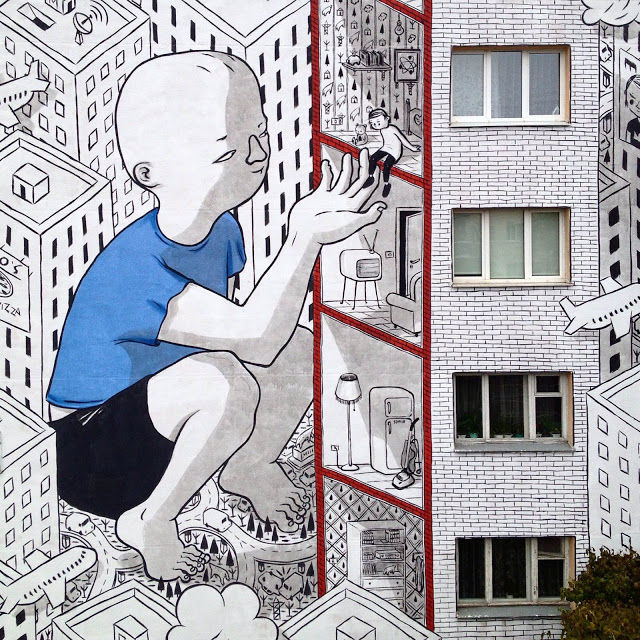 Colossal Character Murals