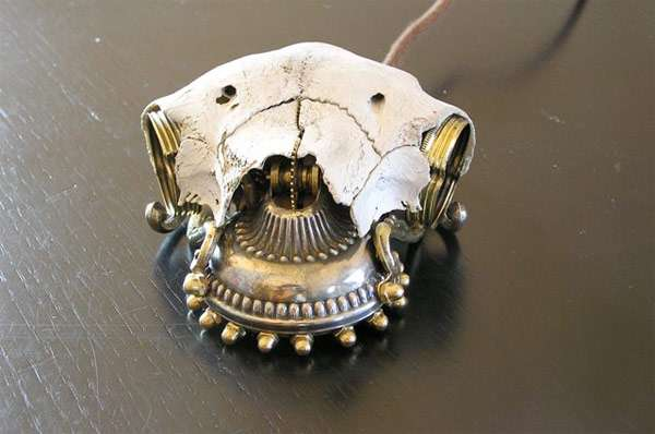 Steampunked Skull Mice