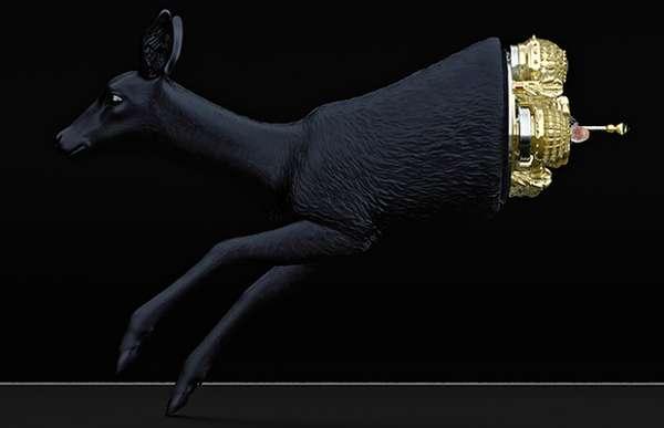 Opulent Animal Cabinets