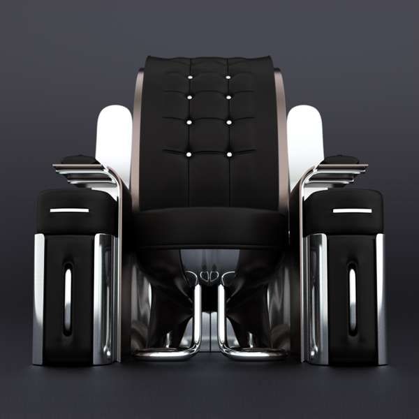 Refined Futuristic Furniture