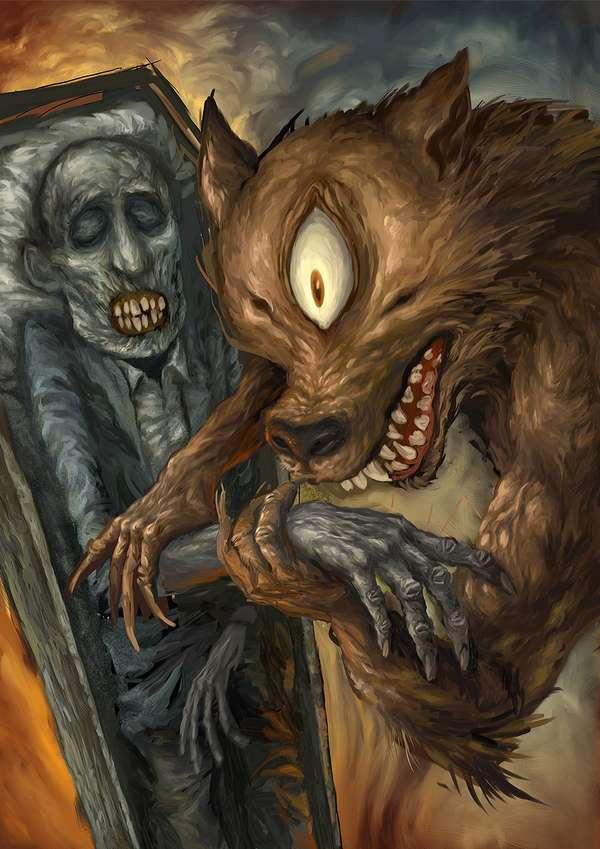Demonic Picture Books