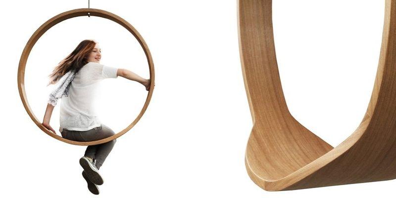 Circular Wooden Swings