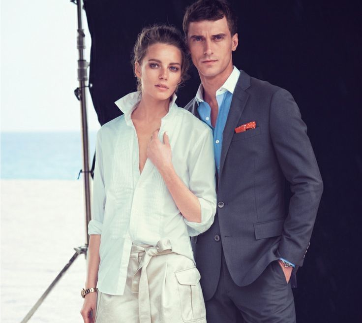 Sophisticated Beachwear Lookbooks