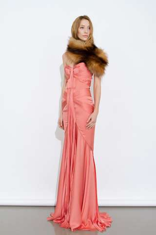 Fabulous Fur-Topped Gowns