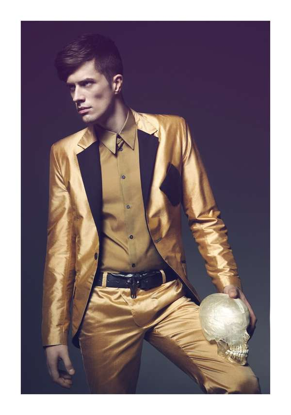 Lustrous Menswear Campaigns