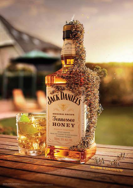 Swarmed Booze Ads
