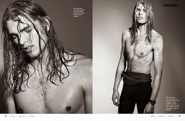 Drenched Surfer Portraits