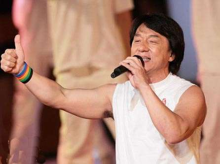 Jackie Chan Sings Olympics Jingle