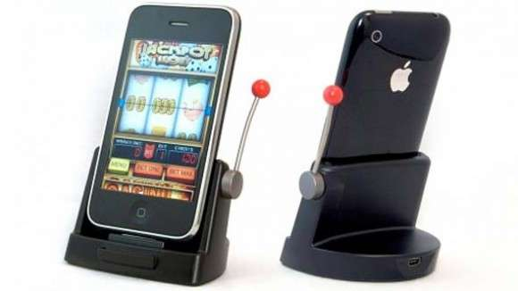 Jackpot Slots iPhone Dock