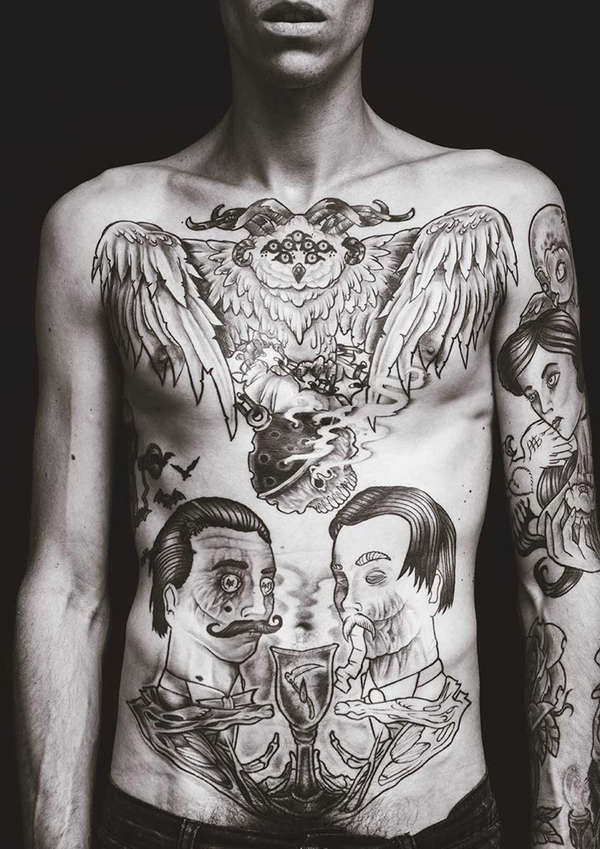 Raw Body Art Photography