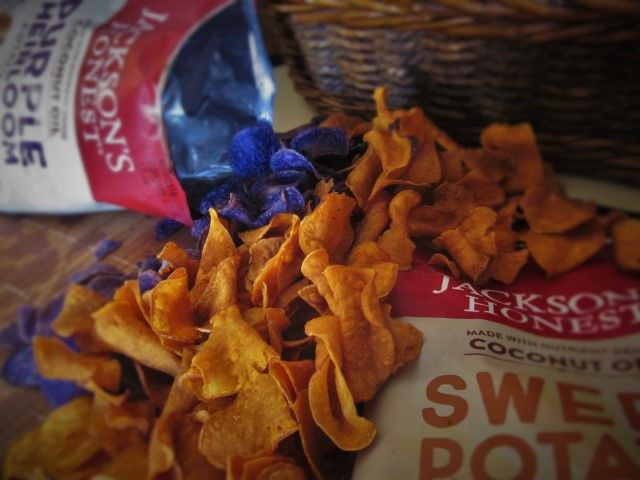 Nutritious Purple Potato Chips