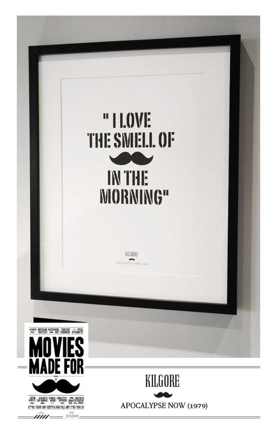 Manly Movember Movie Prints