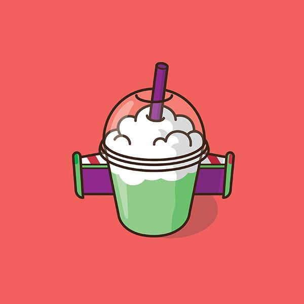 Coffee Cup Cartoon Characters