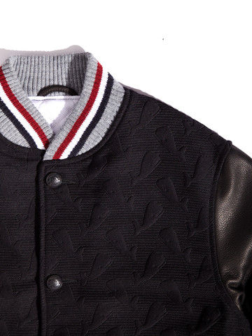 Whale-Embossed Jackets