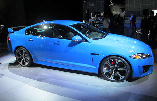 Lightning Fast Sports Cars Jaguar Xfr S Sedan