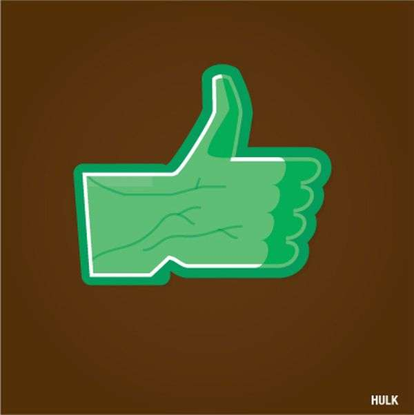 Superhero Social Media Likes