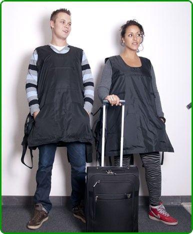 Baggage Fee-Avoiding Bodysuits