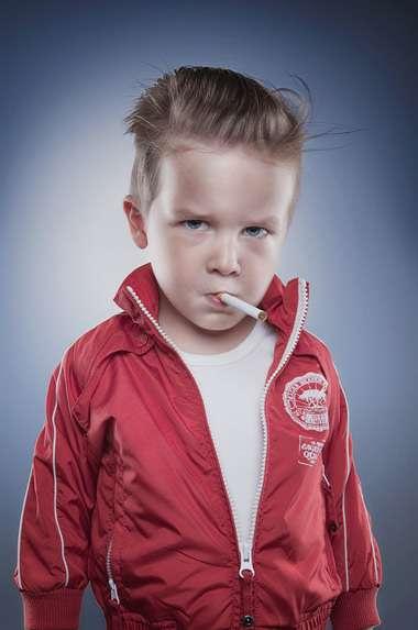 Badass Baby Photography
