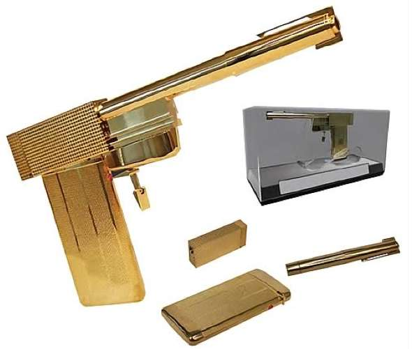 Gilded Hollywood Firearms