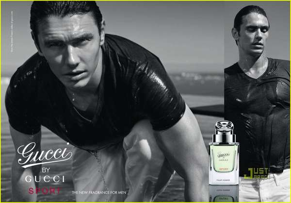 James Franco Gucci Ad