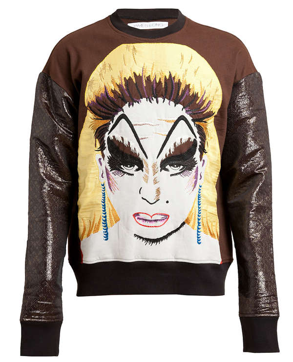 Urban Glam-Rock Knitwear