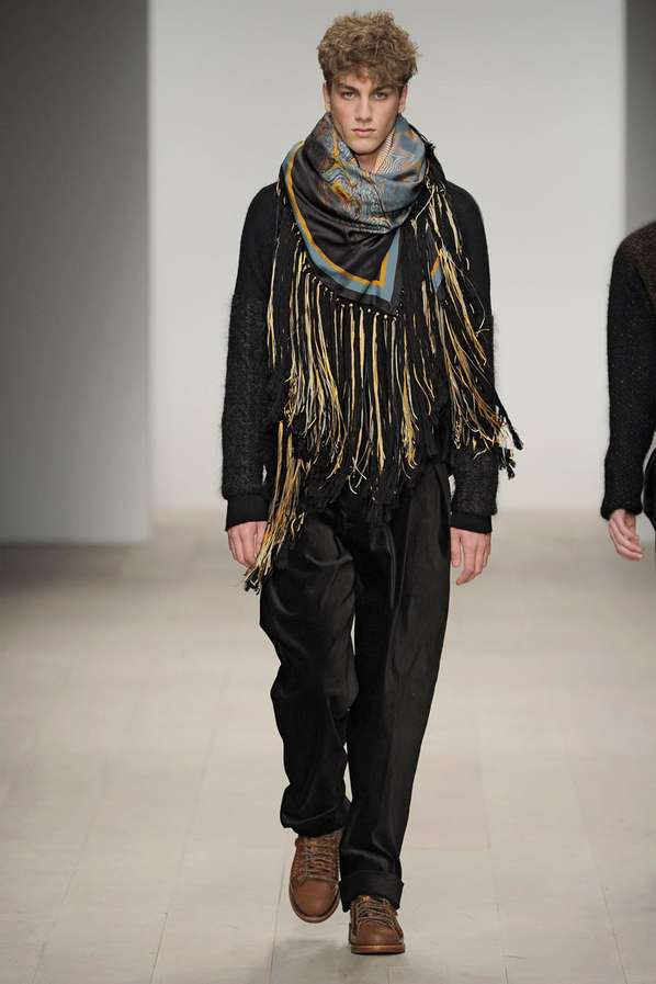 Textured Textile Catwalks