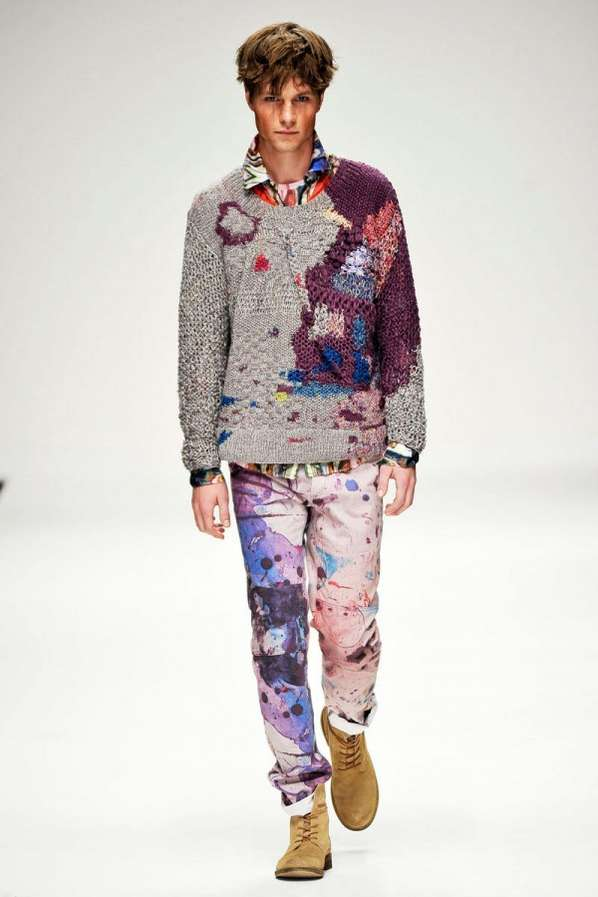 Paint Splattered Fashion