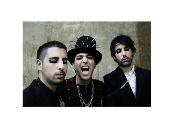Studded Top Hats