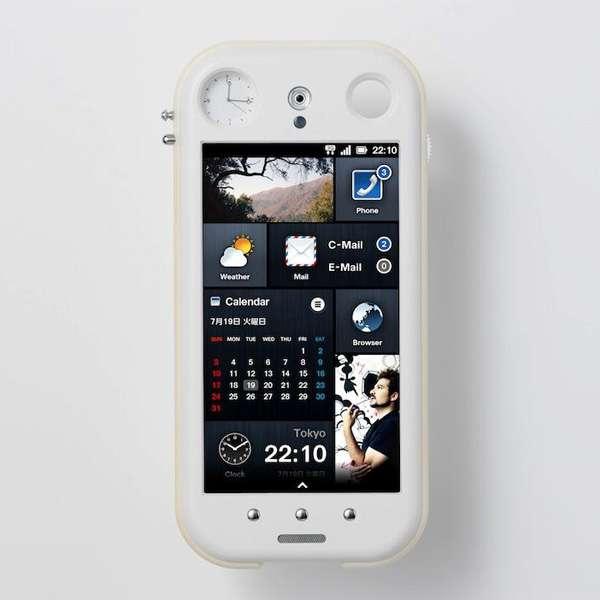 Hybrid Time-Telling Smartphone