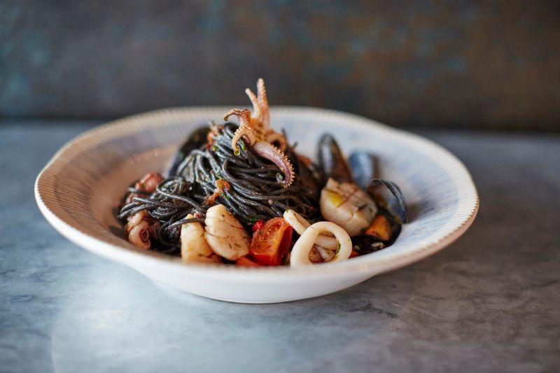 Seafood Spaghetti Menu Items