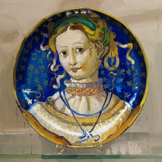 Historical Plate Paintings
