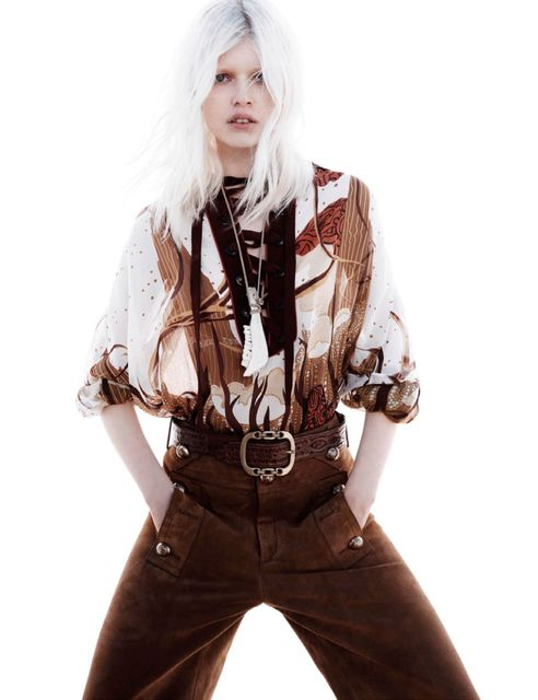 Contemporary Cowgirl Editorials