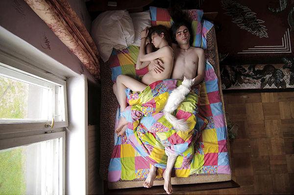 Sleeping Pregnancy Photography