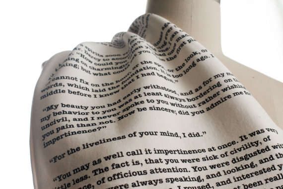 Stylistic Literary Scarves