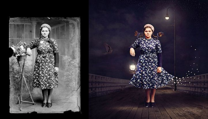 Whimsically Vintage Compositions