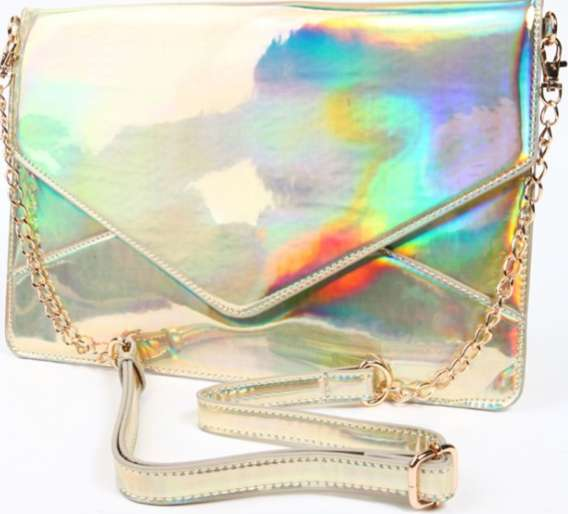 Haute Holographic Handbags